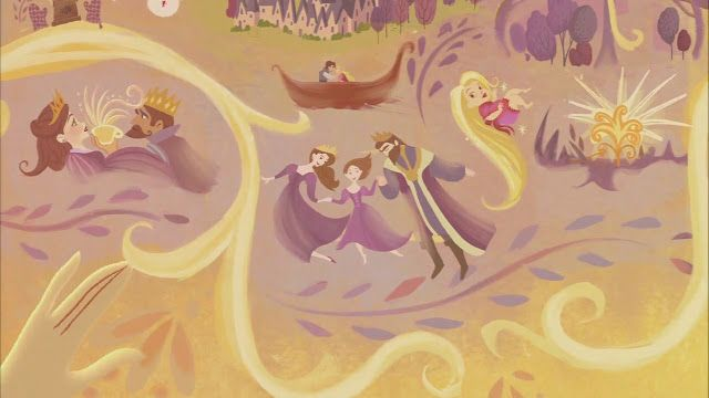 Once Upon A Blog...: 'Tangled: Before Ever After' Series Kicks Off with Original Movie (& Life Gets Hairier)