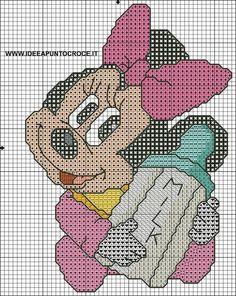 baby minnie cross stitch by syra1974 on DeviantArt