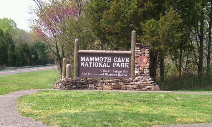 Mammoth Cave National Park in Mammoth Cave, KY. It is the longest cave system known in the world. The official name of the system is the Mammoth-Flint Ridge Cave System for the ridge under which the cave has formed. Find more info @ http://en.wikipedia.org/wiki/Mammoth_Cave_National_Park Bring a hammock to hang with @ http://hammocktown.com/