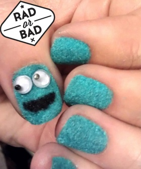 Rad Or Bad: The Cookie Monster Mani