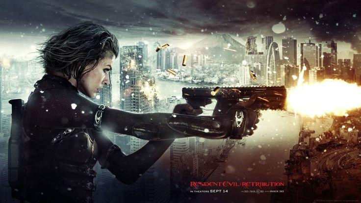 Películas Resident Evil 5: La venganza  Resident Evil Fondo de Pantalla
