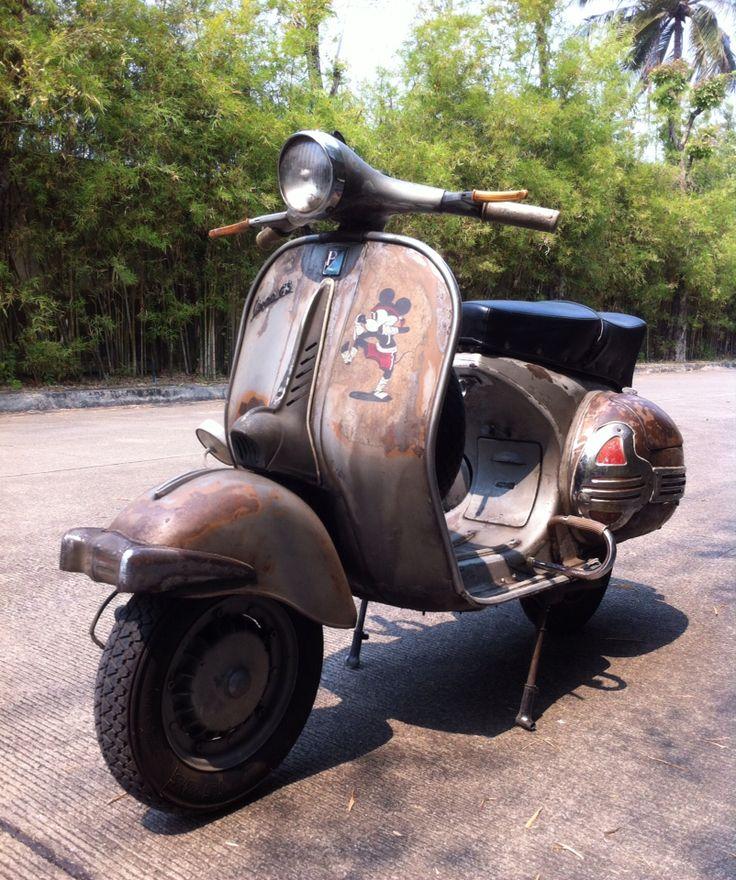 1959 Vespa GS150 VS5 Scooter Grand Sport