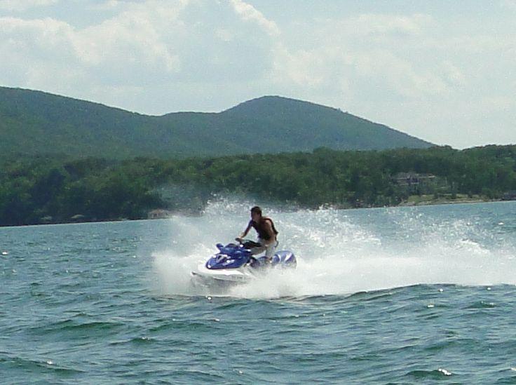 Fun time! Smith Mountain Lake