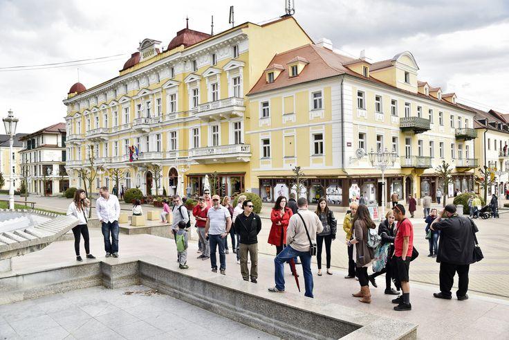 Tour to spa city Františkovy Lázně.