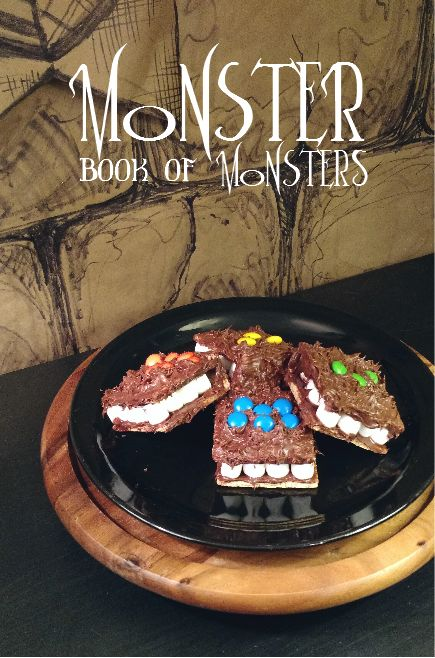 The Monster Book of Monsters from Harry Potter