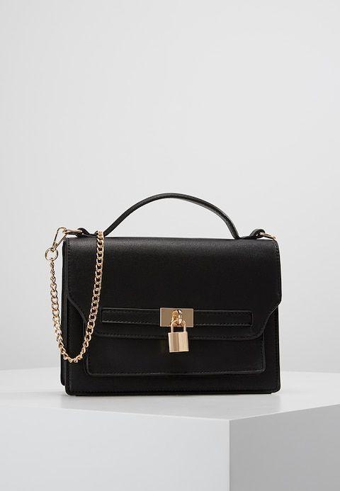 4eeff28a6a93b Dorothy Perkins PADLOCK TOP HANDLE - Handbag - black - Zalando.co.uk