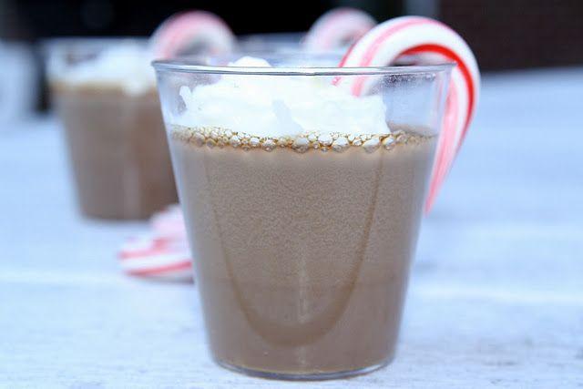 Peppermint Mocha Jello Shots for Christmas Break? ;)