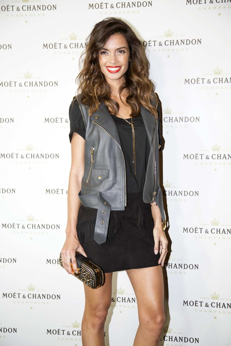 Joana Sanz and Melissa Jimenez attend Moet & Chandon Party