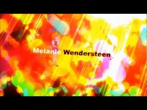 English: Melanie Wendersteen, a girl with a special gift. Translation text trailer: Her predictive powers | have a downside | She knows that the future | can never be changed!