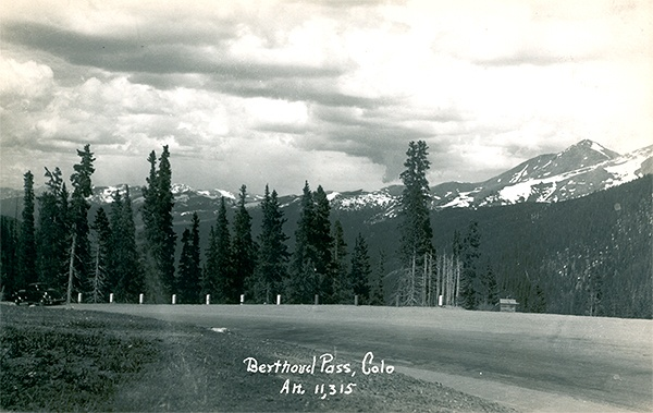 U.S. Route 40 - Berthoud Pass - Western Slope On the way to Bielingergs cabin