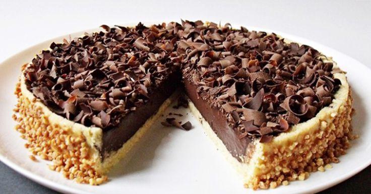 Čokoládový dort ala Panna cotta