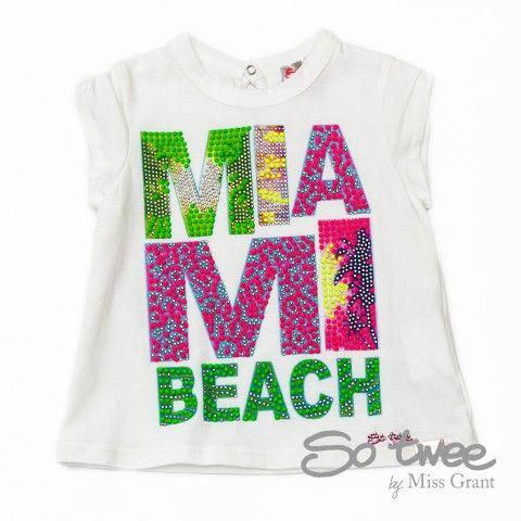 SO TWEE by #missgrant MAXI T-SHIRT MIAMI. Collezione S/S14 saldi del 50%! #discount