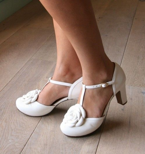 Chie Mihara Style: BRI-BOBINA  zapatos novia wedding shoes white