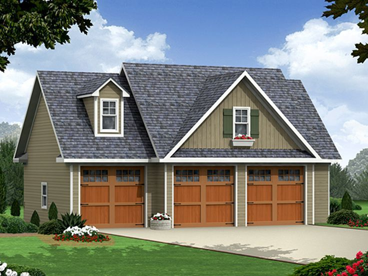 17 best Detached Garage Plans with Apartment Above images on Pinterest