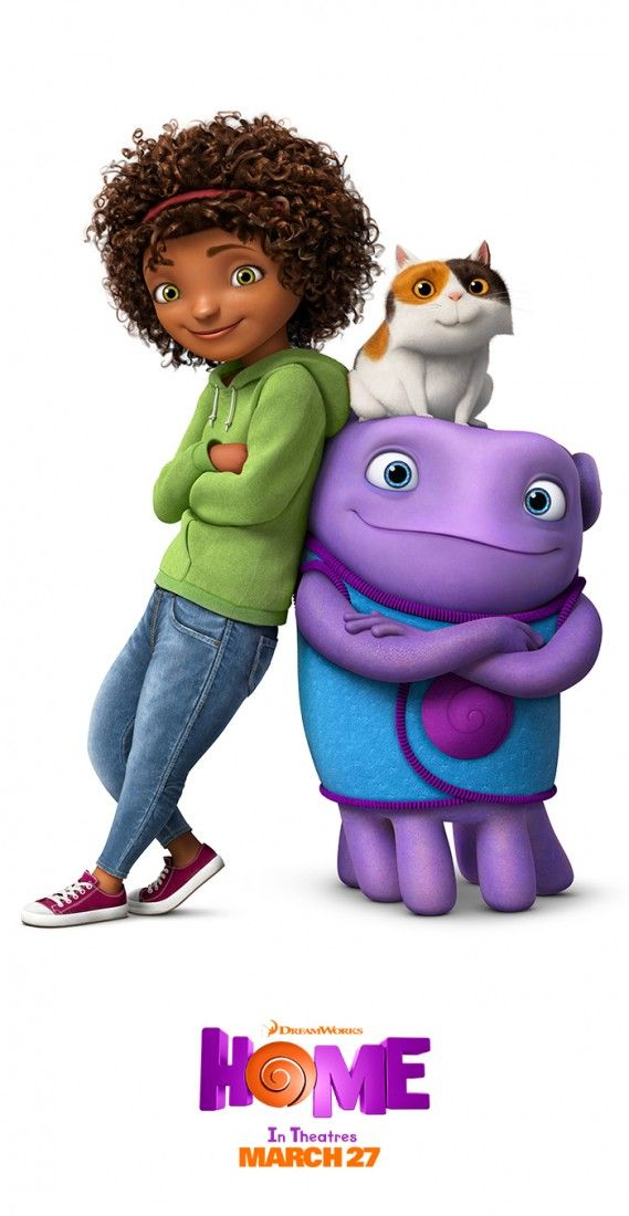 Meet Oh, Tip, and Pig from the movie Home. Sponsored by DreamWorks.: