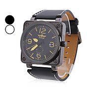 menns pu analog mekanisk fasjonable klokke (a... – NOK kr. 157