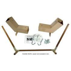 wooden hammock stand diy - Google Search