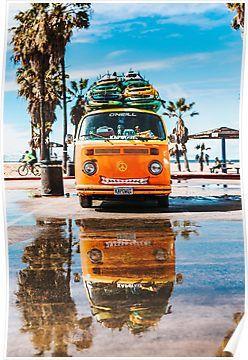 The Cheesy Hippie Van | Poster