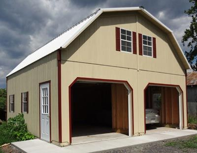 Amish Storage Sheds & Shed Kits from Alan\'s Factory Outlet | House ...