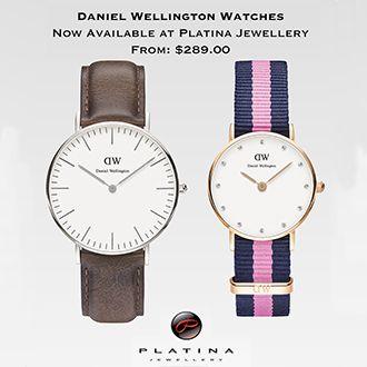 #danielwellington @platinajewellery #milfordcentre