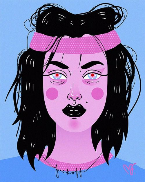 #illustration #ai #illustrator #madelenfoss #zombie