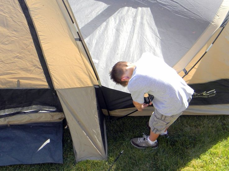 Ideas for camping out in the backyard
