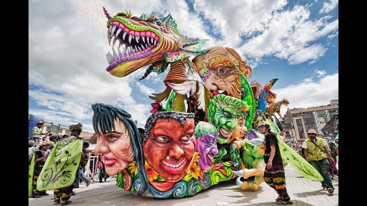 Carnaval de Negros y Blancos de Pasto. Foto: Cortesía Corpocarnaval