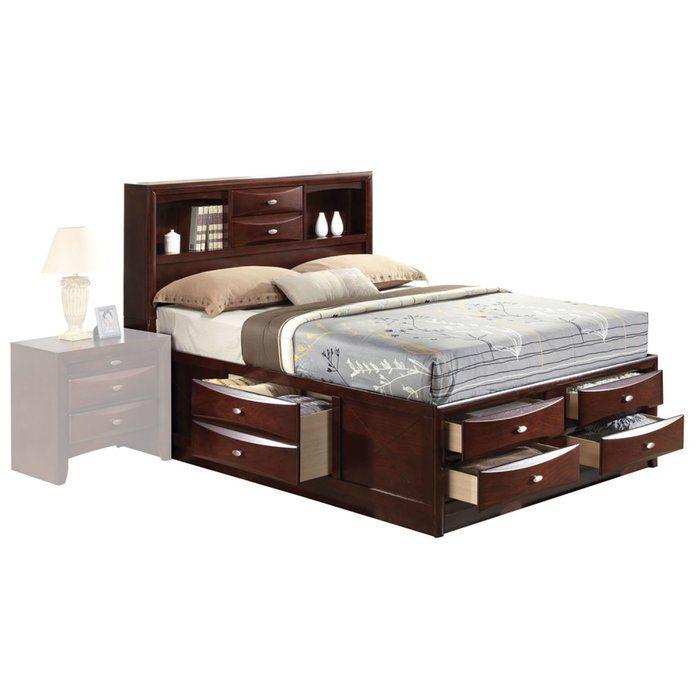 Braymer Storage Platform Bed King Storage Bed Storage Bed Furniture