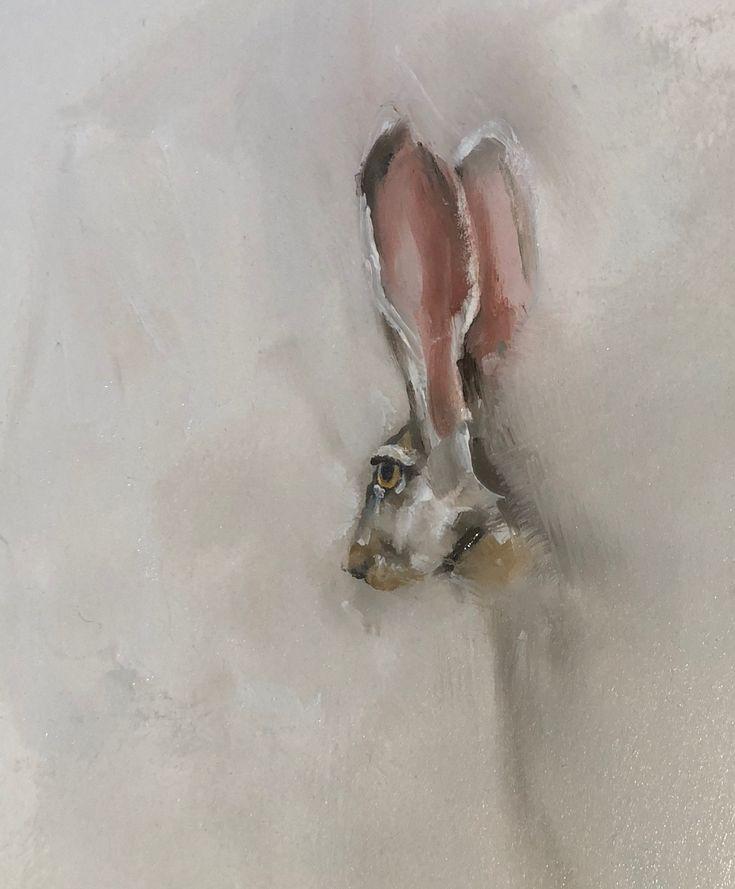 Hare by Julie Brunn