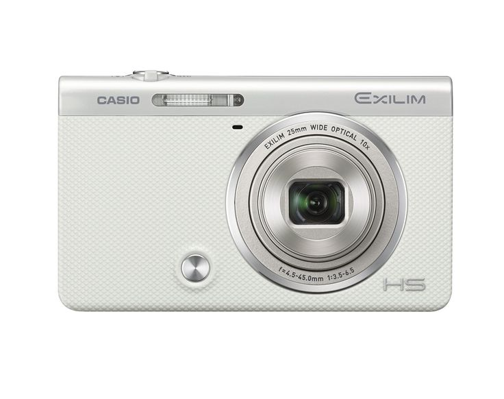 CASIO Digital Camera EXILIM EX-ZR60WE Selfie Tilt LCD White. CASIO Digital Camera EXILIM EX-ZR60WE Selfie Tilt LCD White.