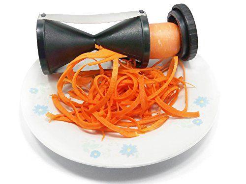 GENÉRICO - Rallador De Zanahorias En Espiral cortador de verduras Genérico