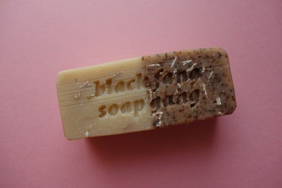 PSYCHIC HOTLINE by BLACK FANG SOAP GANG Avg. 150g (Contains honey & beeswax)  I see beautiful skin in your future!  Made with: * Refreshing black tea leaves * Exfoliating oats * Soothing essential oils & honey * An extra serving of moisturising luxury oils & butters  Contains no artificial colours, fragrance or additives. 100% natural. Palm free. Vegetarian.  One of our newer soaps, inspired by the art of tea leaf reading. Good for skin that is: * Dry * Itchy * Ashy * Sensitive N.B. the