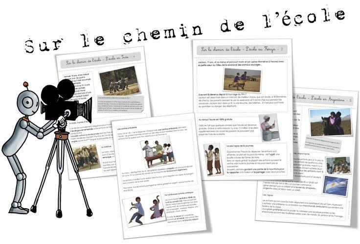 Cinéma : Sur le chemin de l'école - Bout de gomme (activités)