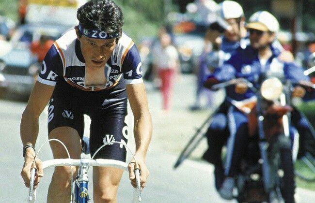 EL PACHO RODRIGUEZ VUELTA 1985 .3 Puesto
