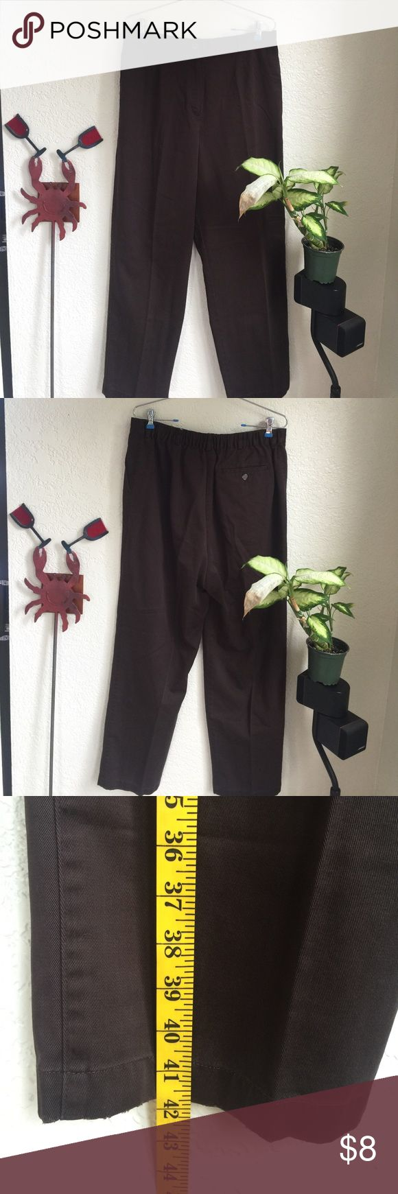 L.L bean women's brown trousers Good Condition L.L. Bean Pants Trousers