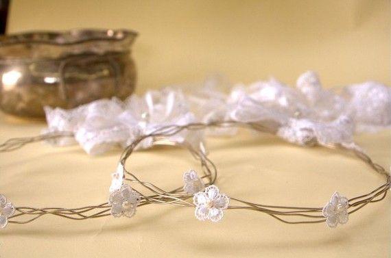 STEFANA Wedding CrownsOrthodox Stefana  Bridal by LenaWeddings