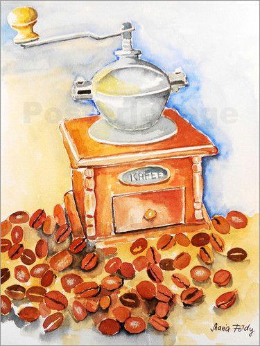 Maria Földy - Frische Kaffee