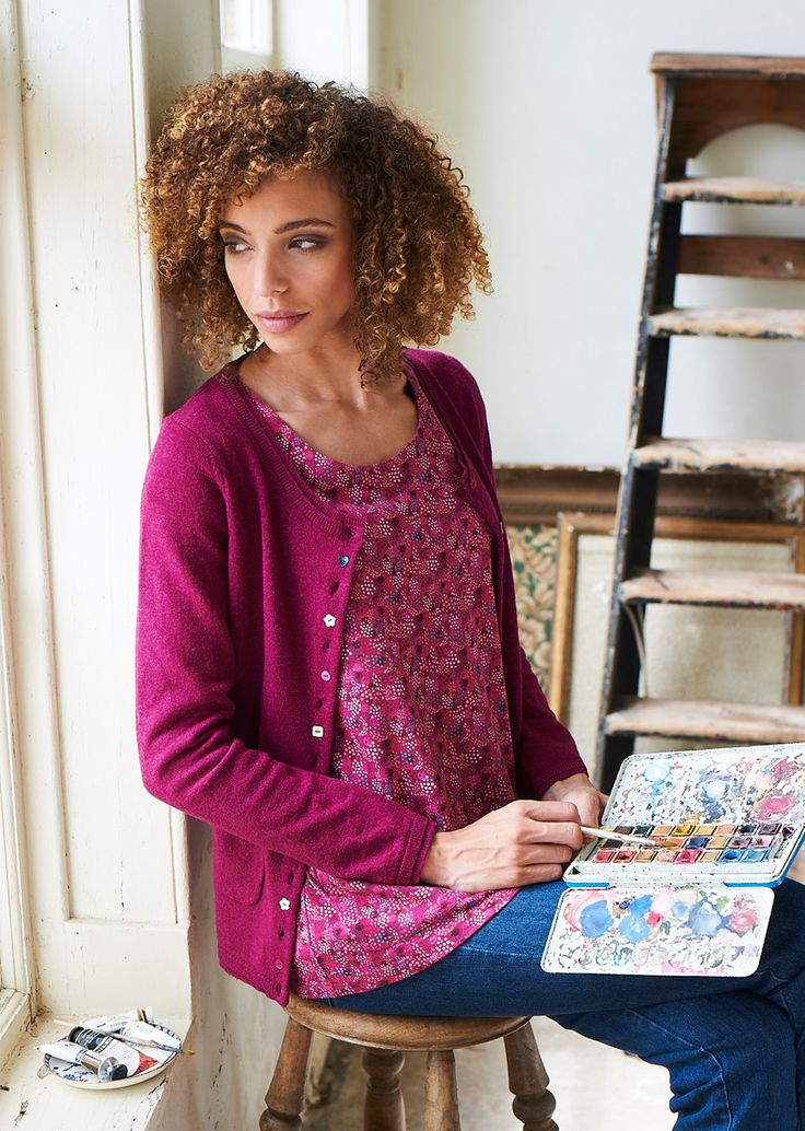Dotty Ditsy Short Sleeve Printed Top http://www.mistral-online.com/clothing-c50/tops-shirts-blouses-c2/dotty-ditsy-short-sleeve-printed-top-with-pockets-sangria-p23022