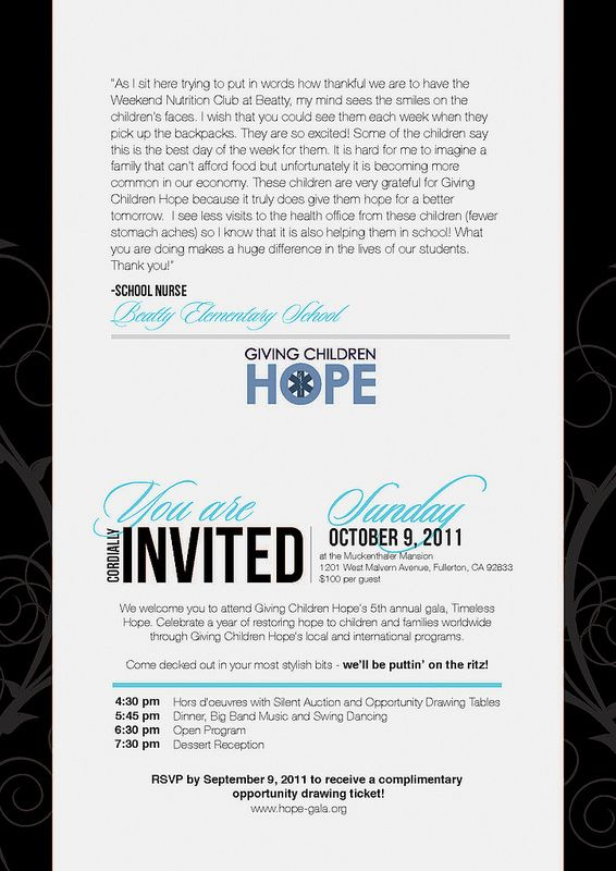 25 trending gala invitation ideas on pinterest 1920s font deco non profit gala invitation inside keywords corporate non profit fundraiser benefit stopboris Image collections