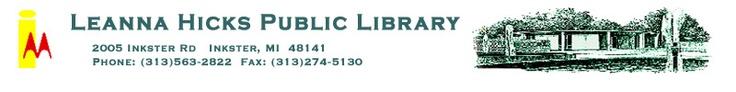 Leanna Hicks Public Library, Inkster, MI