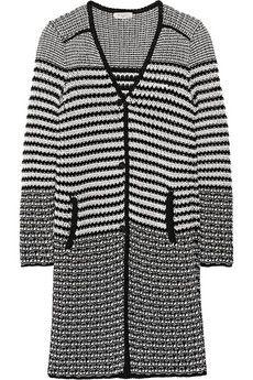 Etro Two-tone cotton cardigan | NET-A-PORTER