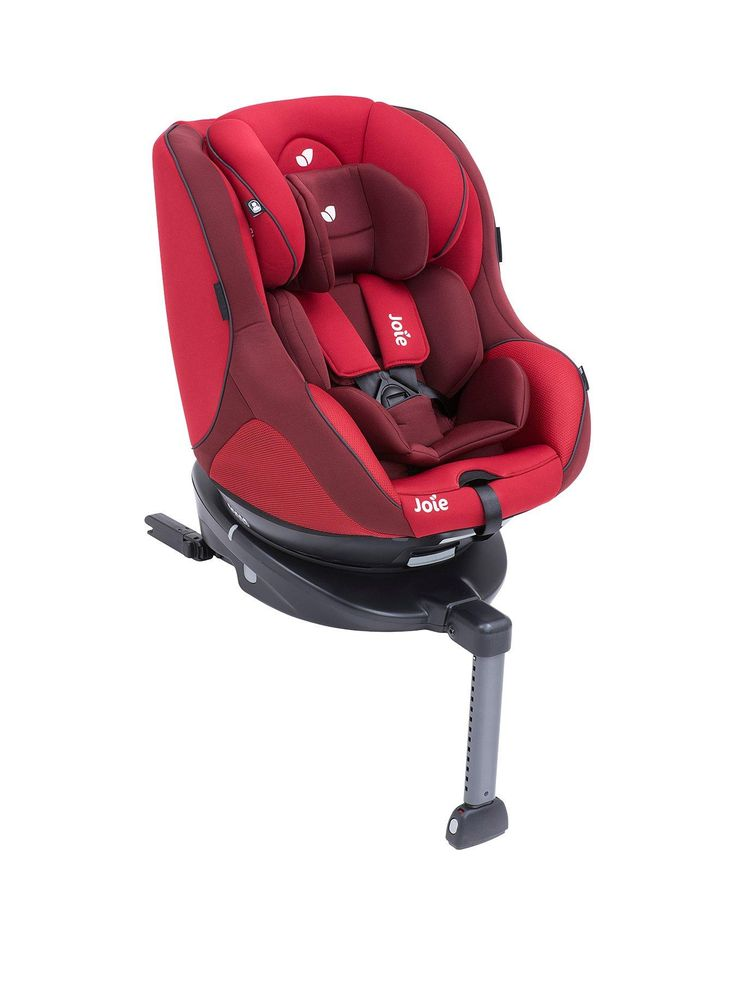 The Joie Spin 360 Group 0+1 Car Seat and Base is designed to make every trip an easy one. Born to grow, this group 0+/1 car seat begins as a rearward facing infant seat up to 18kg, then converts to a forward facing seat from 9-18kg (approx birth - 4 years). This spinning safety seat turns all the way around for easy access, while the streamlined and secure base is rebound bar free and ISOFIX installed for added security.With built-in side ventilation, it also has a 5 point harness with s...