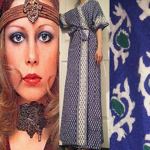 long 60s dress robes