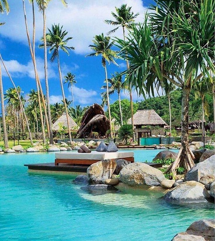 "1,382 Likes, 9 Comments - Luxury Resorts (@luxuryresorts) on Instagram: ""Laucala Island, Fiji ⠀ Photography by @luxuryvacations"""
