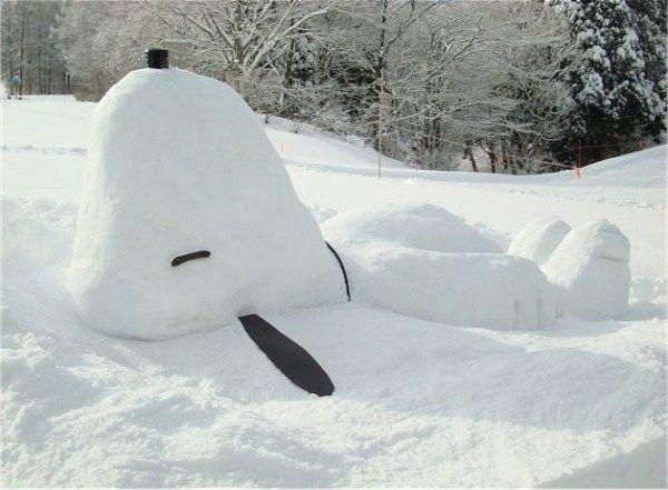 Better than a snowman!