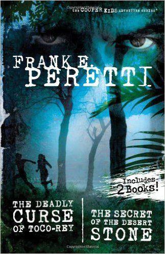 The Cooper Kids Adventure Series 2-in-1 Book: Includes: The Secret of the Desert Stone and The Deadly Curse of Toco-Rey: Frank E. Peretti: 9781400316465: Amazon.com: Books
