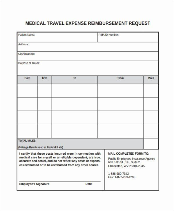 Travel Reimbursement Form Template Elegant Free 33 Travel Request Form In Templates Business Template Templates Freelance Invoice Template