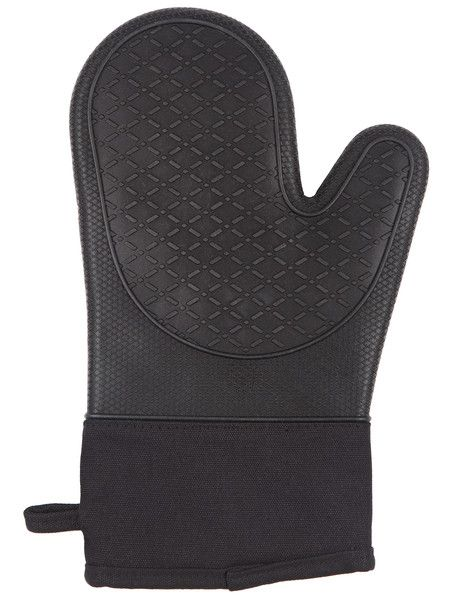 Forming part of the Haven Home Ceres Collection this single Oven Mitt features a heat-resistant silicone exterior and a cotton lining. Other items in the range include a selection of garlic peelers and an onion holder (each sold separately).