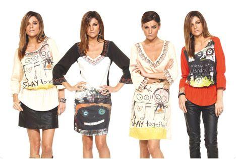 Clothes with Poul Pava art.
