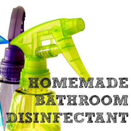 Tired of harsh chemicals? These non-toxic homemade bathroom disinfectant spray and scrub recipes will leave your bathroom naturally sparkling and clean.